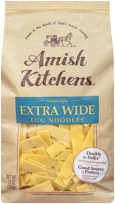 ExtraWideNoodles - Amish Kitchens® Extra Wide Egg Noodles