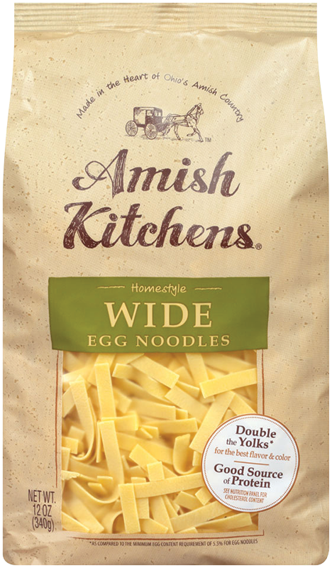 WideEggNoodles - Amish Kitchens® Wide Egg Noodles
